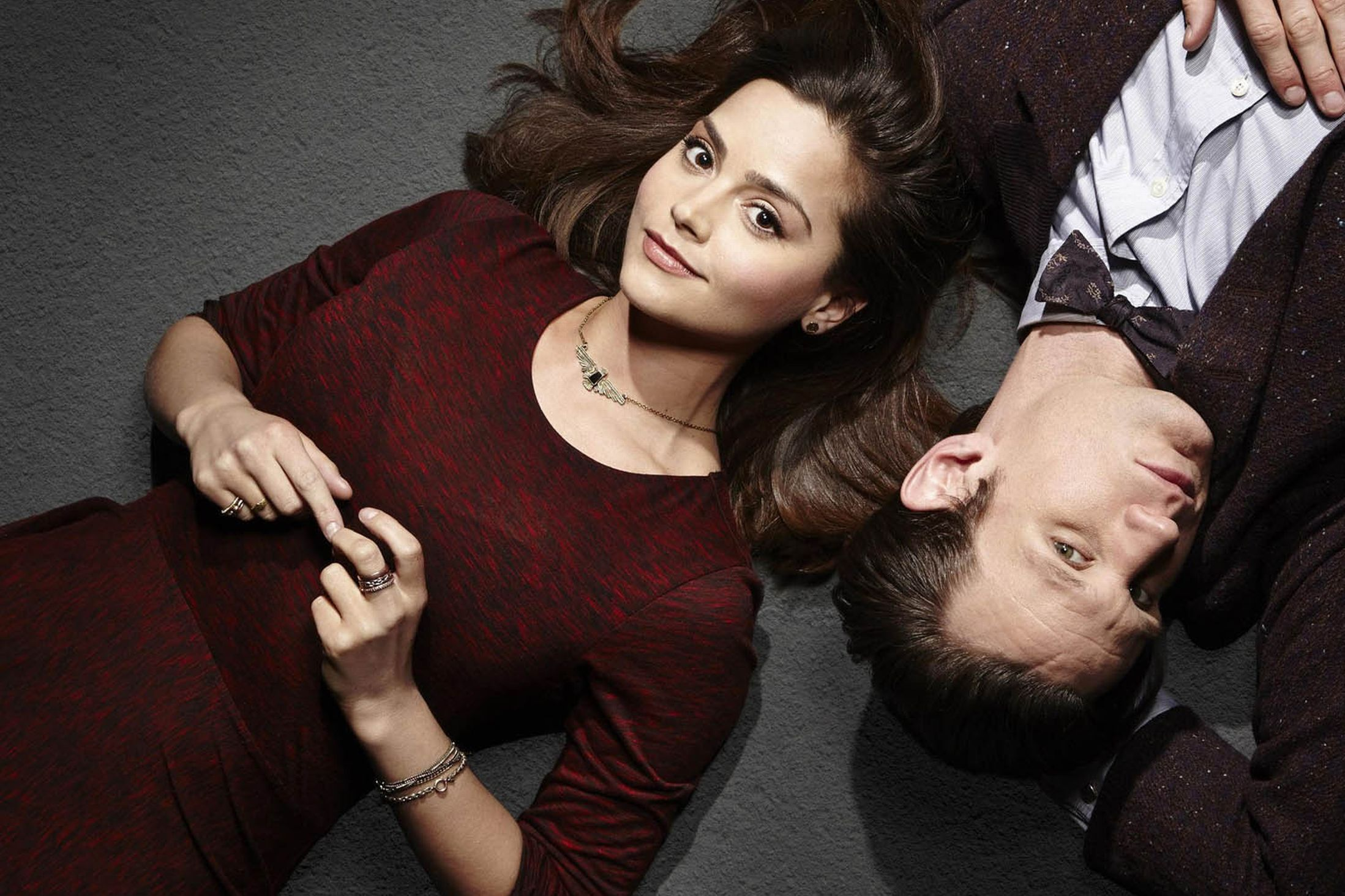 Doctor-Who-stars-Jenna-Louise-Coleman-and-Matt-Smith