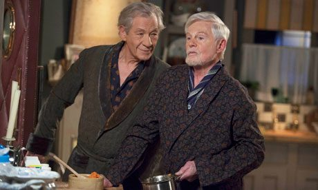 Vicious: Ian McKellen and Derek Jacobi