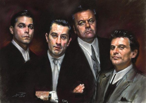 A well known mob story -Goodfellas cast