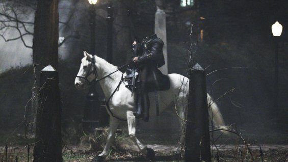 The headless horseman in 'Sleepy Hollow'