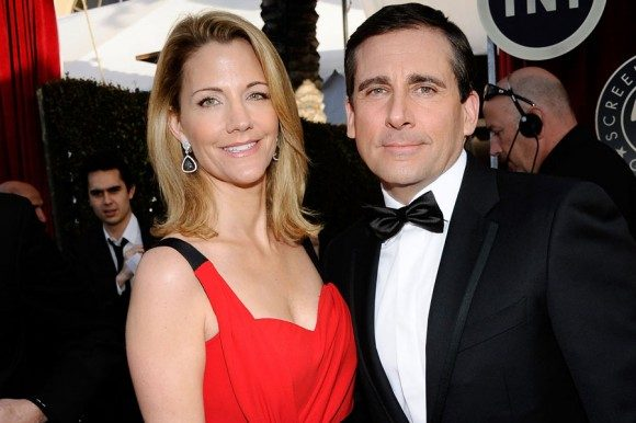 Steve-Carrell-And-Wife