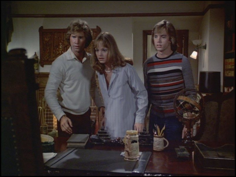 Parker Stevenson, Pamela Sue Martin, Shaun Cassidy in the 1977 ABCCseries