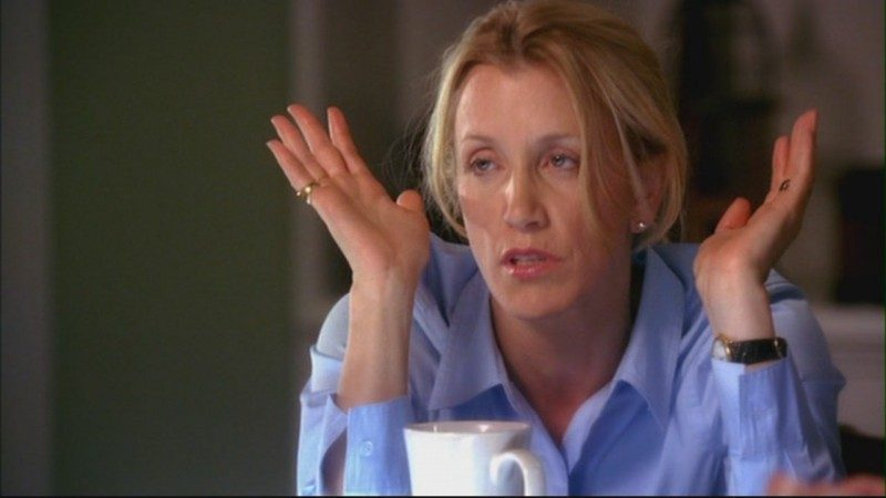 Huffman as Lynette Scavo, American's most relatable Desperate Housewife