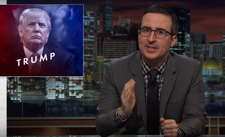 HBO Renews 'Last Week Tonight with John Oliver' for Three More Seasons