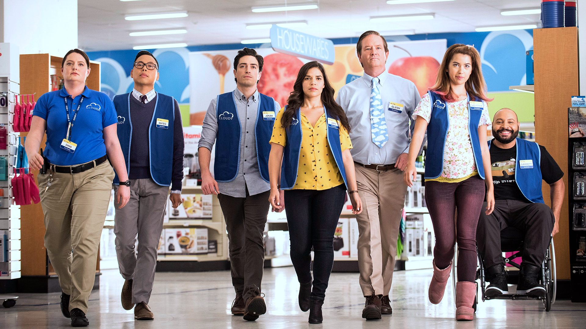 America Ferrera Gets a Cloud 9 Farewell as 'Superstore' Airs its 100th Episode
