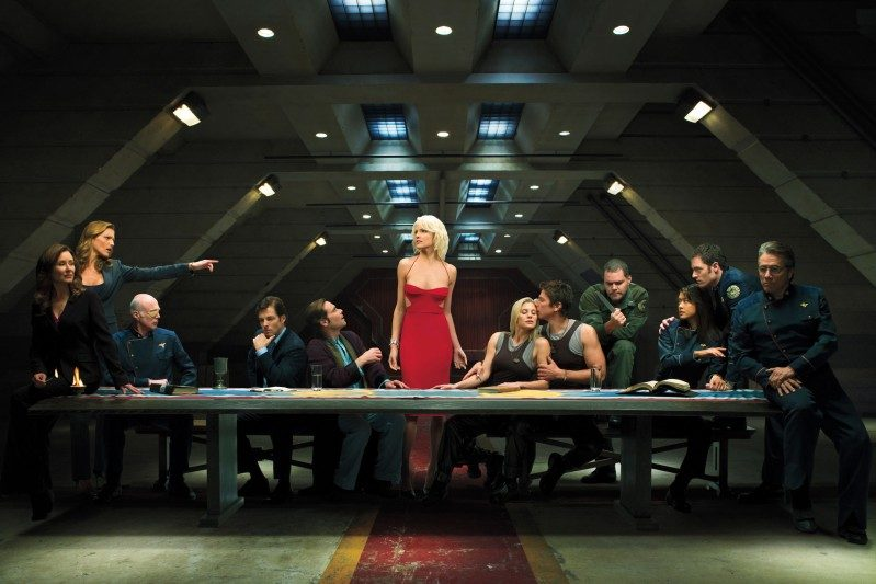 Syfy's 'Battlestar Galactica' was part of the beginning of a wave of smart, character-driven TV