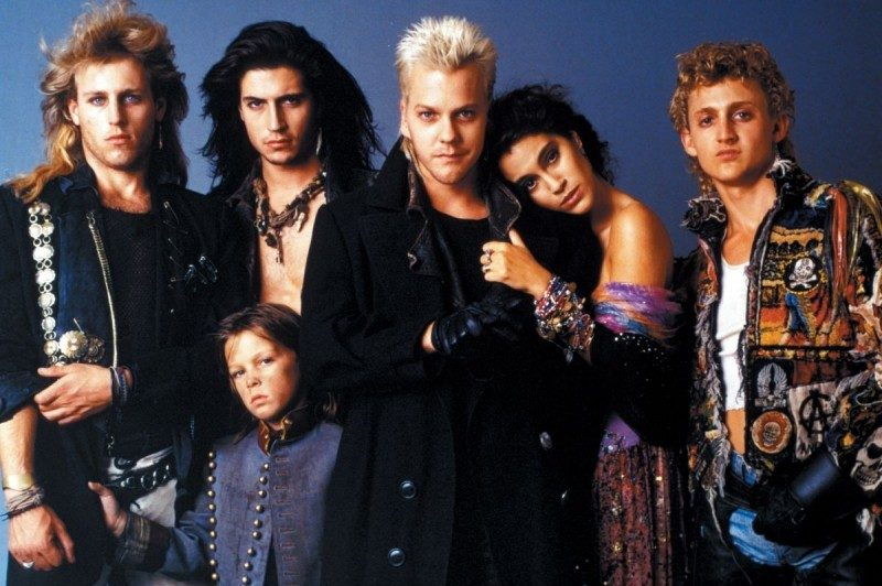 Sutherland in 1987's Lost Boys. (And yes, that is Bill of 'Bill & Ted's)'