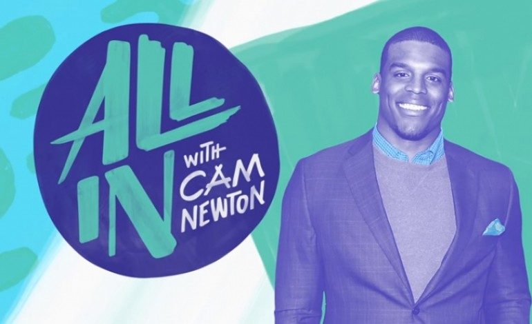 Cam Newton Inspires the Youth to Reach their Dreams in Nickelodeon Docu-Series
