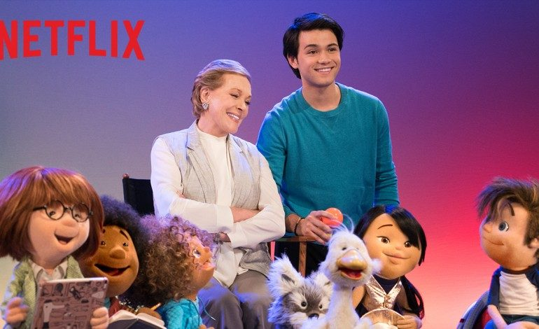 "Netflix Teams Julie Andrews, Jim Henson Co. for Children's Show ""Julie's Greenroom"""