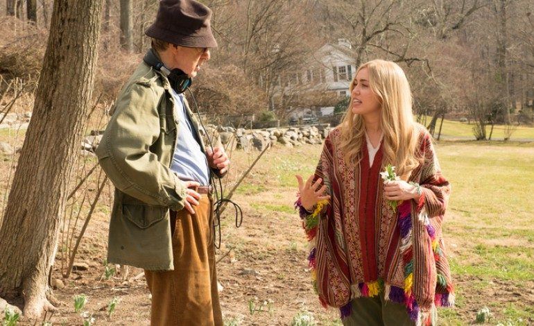 First Images of Woody Allen's Amazon Series 'Crisis in Six Scenes' Show Miley Cyrus Rocking the 60's Look