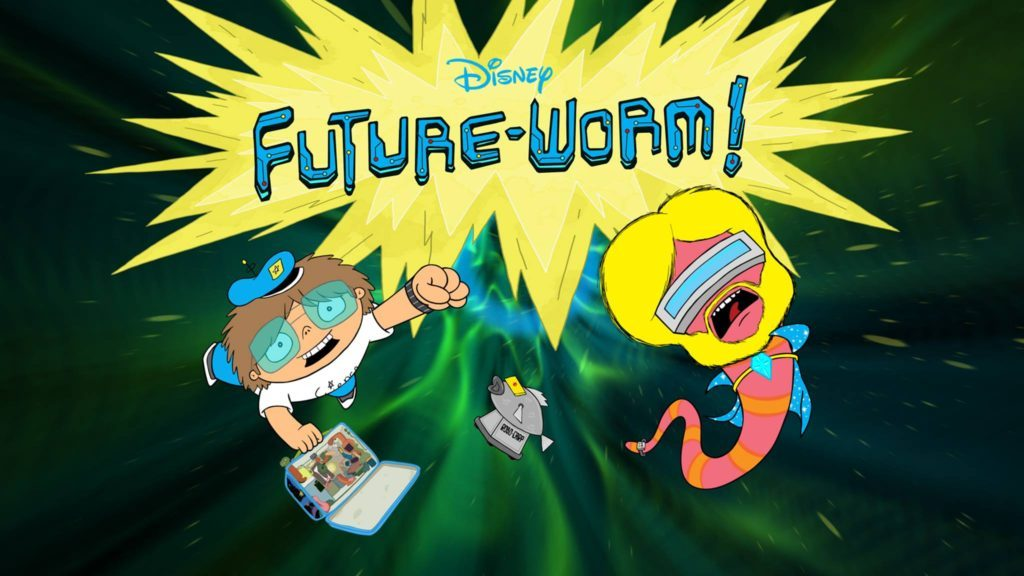 Disney Xd To Premiere Future Worm New Animated Comedy Adventure