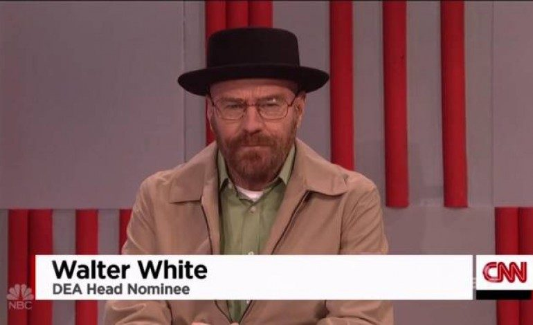 """Walter White"" Appears on 'Saturday Night Live'"