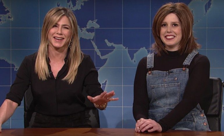 Jennifer Aniston Makes a Surprise Appearance on 'Saturday Night Live'
