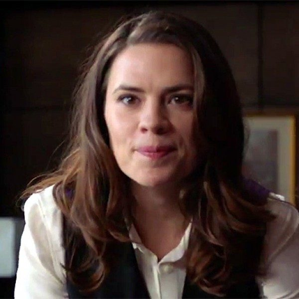 Hayley Atwell in recent series 'Conviction.'