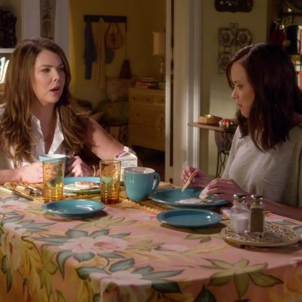 Rory (Alexis Bledel) and Lorelai (Lauren Graham) back in Stars Hollow for the 'Gilmore Girls' revival