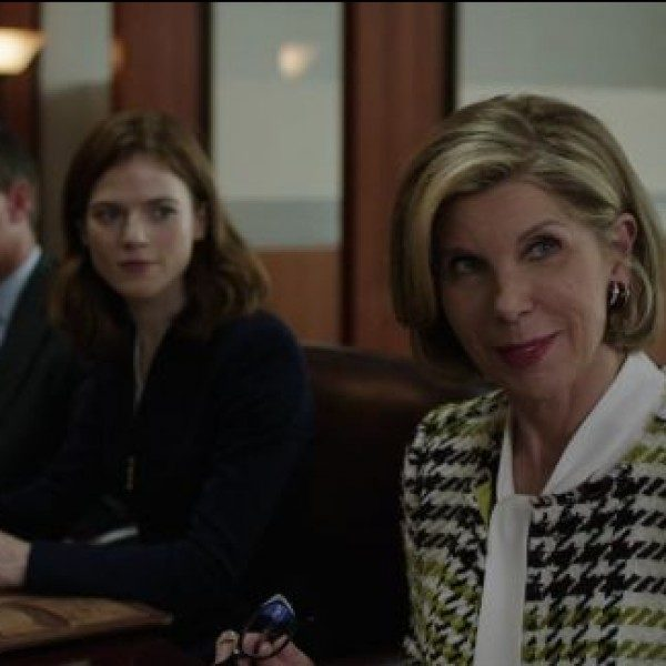 "The first episode of 'The Good Fight' is entitled ""Inauguration""  and involves Lockhart's motivation to make a change."