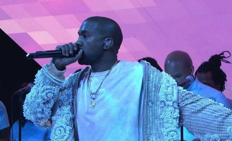 Kanye West gets political on the season 44 premiere of 'Saturday Night Live'