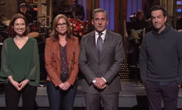 Steve Carell's Return to SNL Leads to Mini 'Office' Party