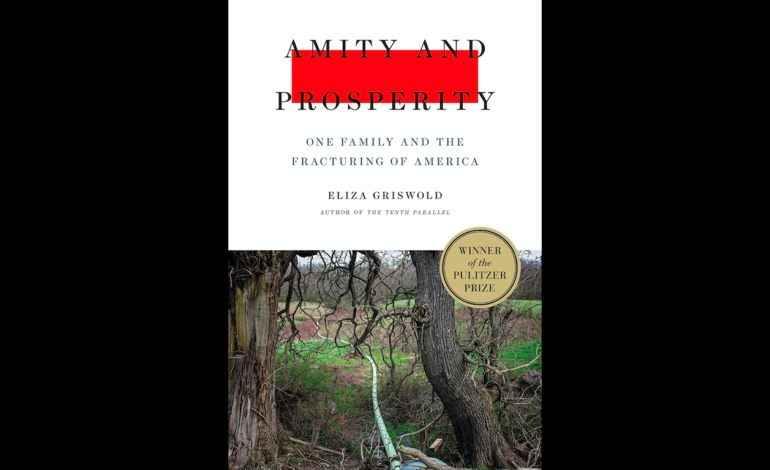 Pulitzer Prize Winning Story 'Amity & Prosperity' To Be Developed Into A Limited Series