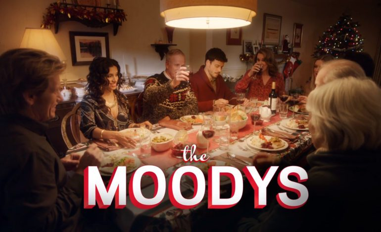 Denis Leary and Elizabeth Perkins Starring in 'A Moody Christmas'