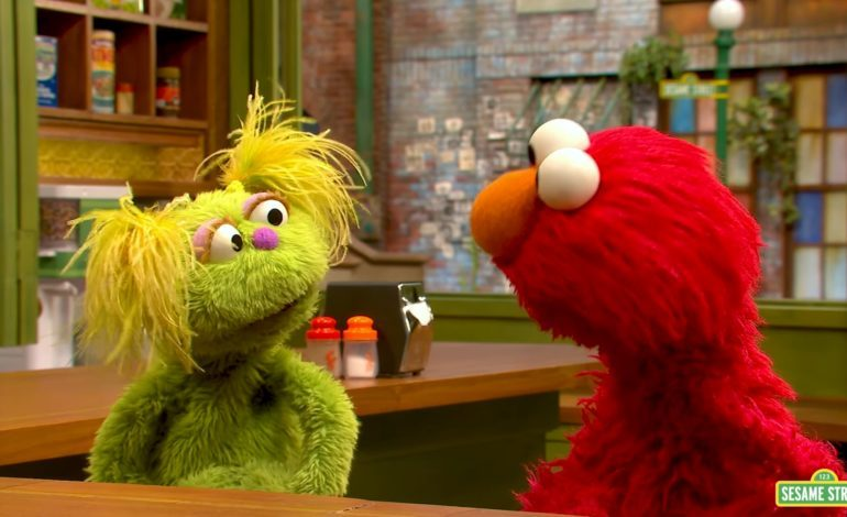 'Sesame Street' Character Karli Talks About Her Mother's Struggle With Addiction
