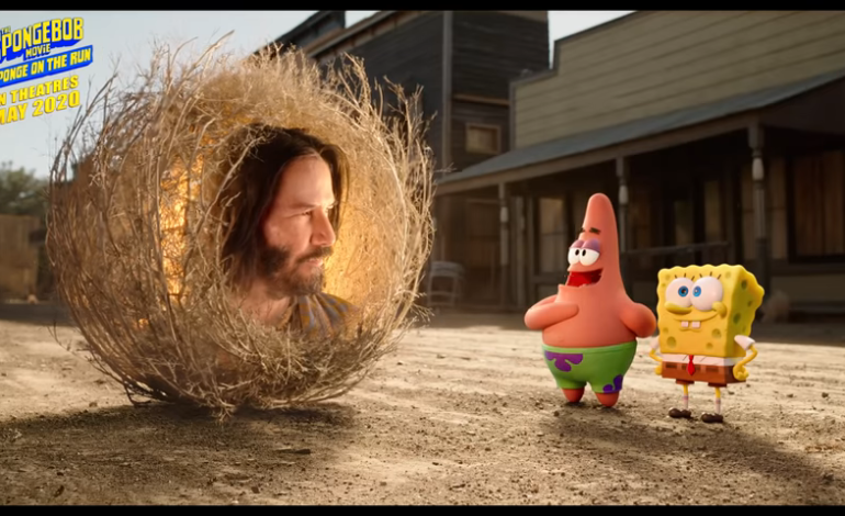Keanu Reeves Cameo On Spongebob Movie 'Sponge On The Run's' Official Trailer