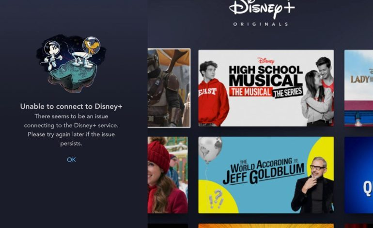 Disney+ Crashes After Launch