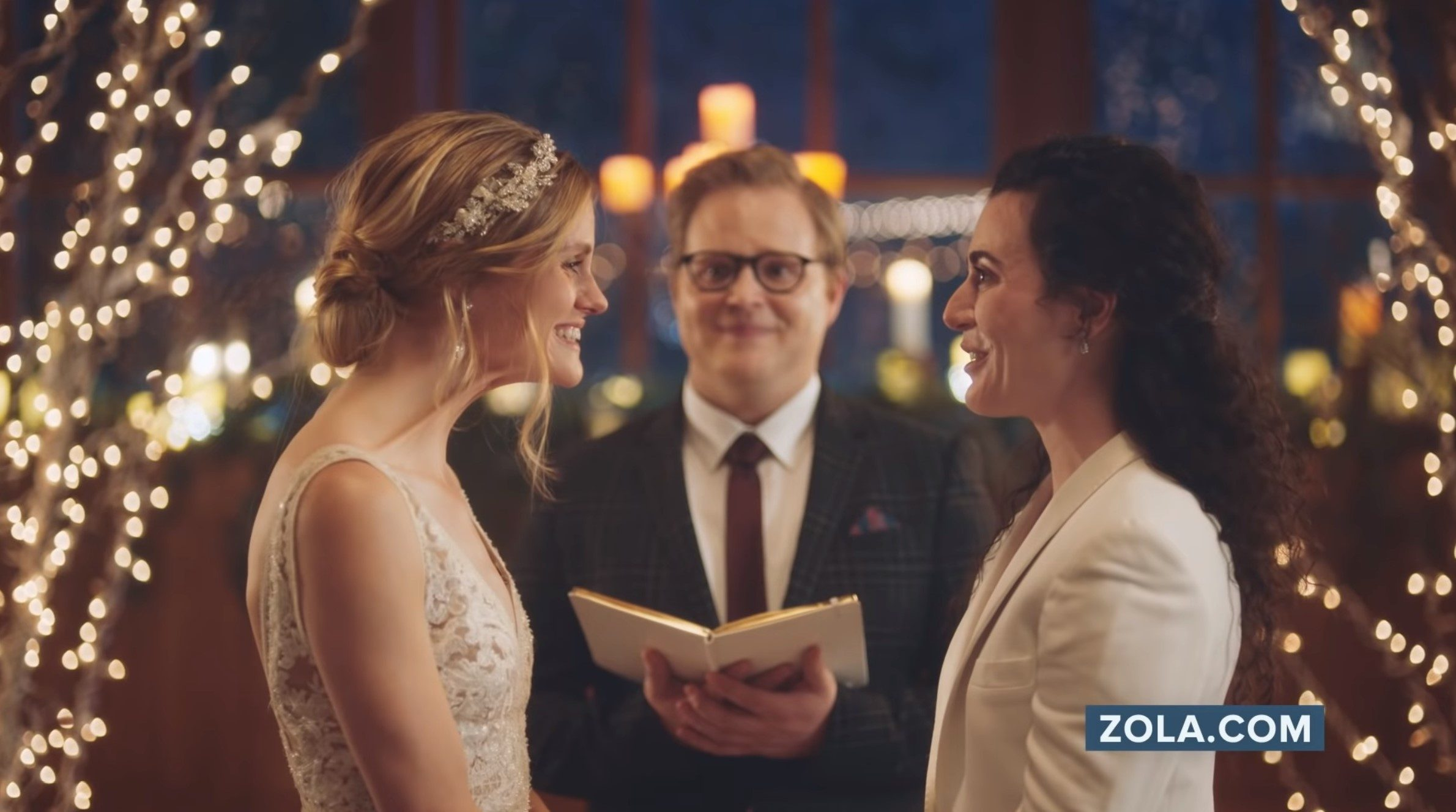 Hallmark Channel Faces Backlash for Airing, Then Taking Down, Ad Featuring Lesbian Brides