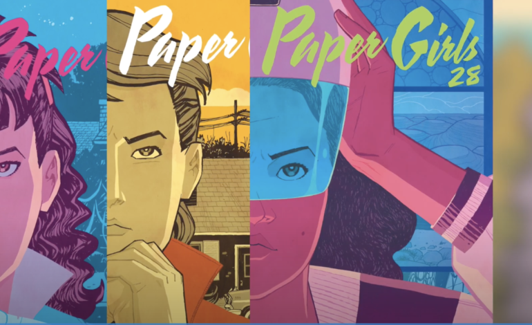 Amazon Go-Aheads Series Formed Around 'Paper Girls' Sci-Fi Comic