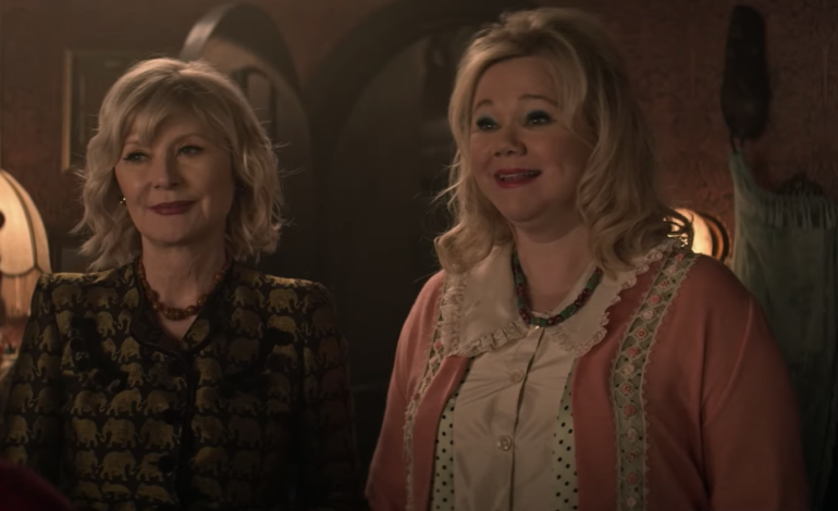 Two Worlds Colliding: The Original Aunt Zelda and Hilda Take Center Stage in Season 4 Clip of 'Chilling Adventures of Sabrina'
